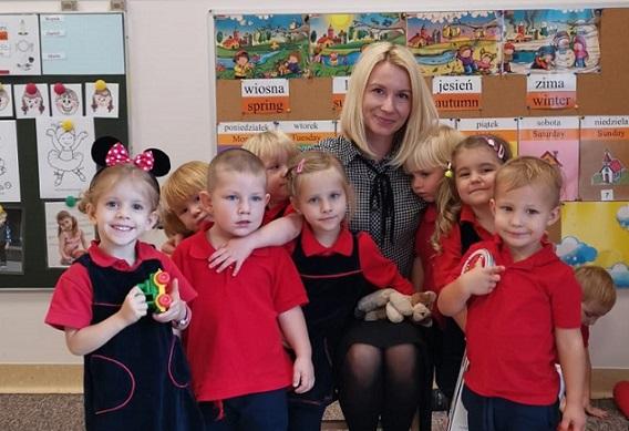 Joanna Zagórska - nauczyciel grupy Tygrysków (4-latki)